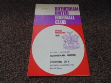 Rotherham United v Leicester City, 1967/68 [FA]